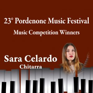 Music Competition Winners – Sara Celardo, chitarra