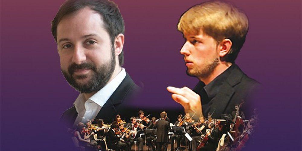 """Orchestra """"S. Marco"""", Alessio Venier, conductor <br /> Davide Alogna violin"""