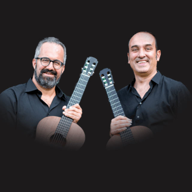 &#8220;Together&#8221; Duo <br /> Christian Saggese &#038; Giulio Tampalini guitars