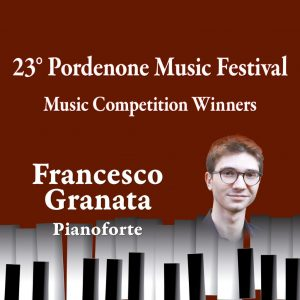 Music Competition Winners – Francesco Granata, pianoforte